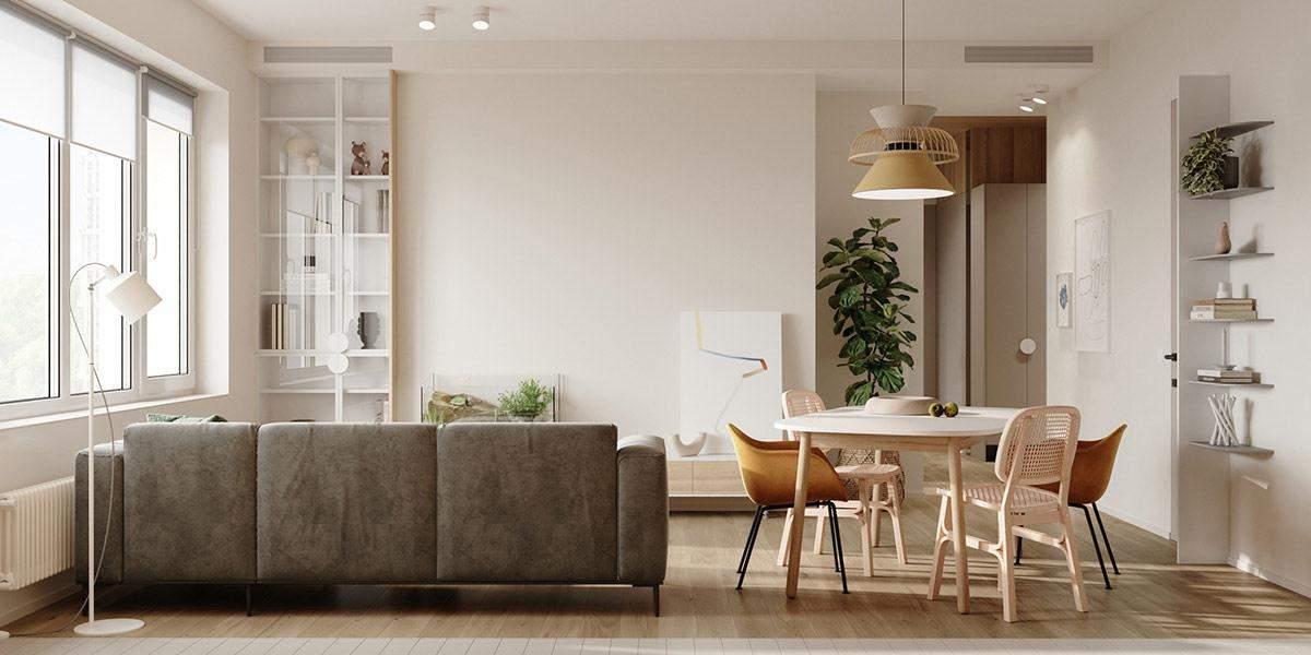 Как разделить пространство квартиры