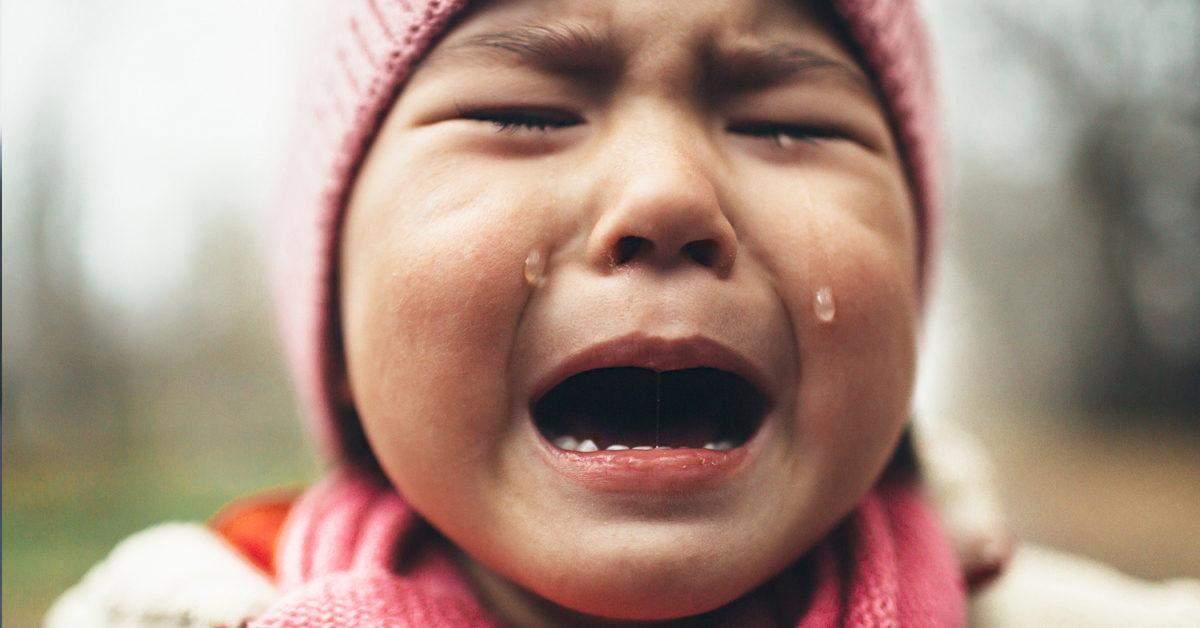 сльози діти