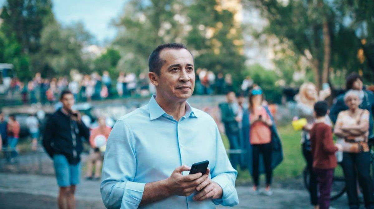 Загід Краснов, місцеві вибори 2020, вибори мера Дніпра, 25 жовтня