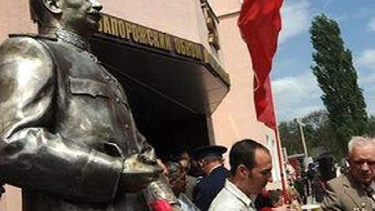 Сталіну тільки повернули голову як його повністю підірвали