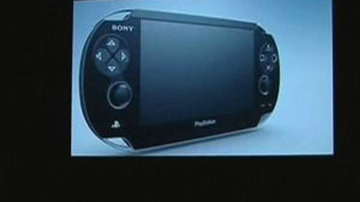 Компанія Sony представила наступника ігрової консолі PSP