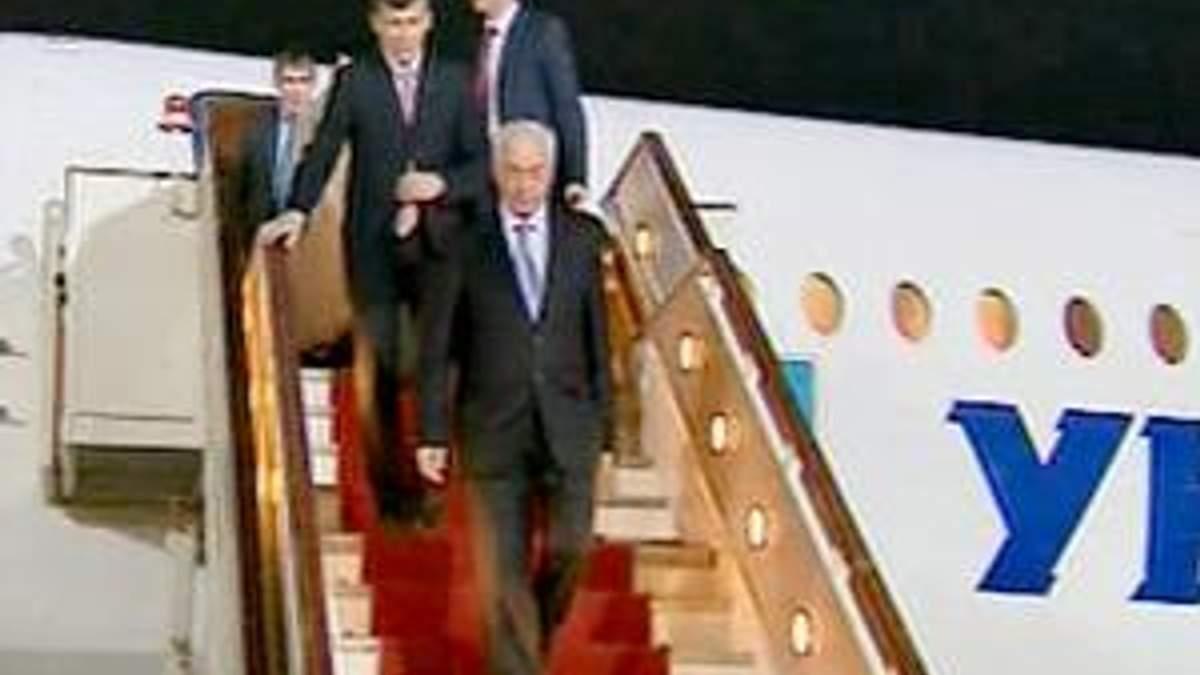 Азаров находится с официальным визитом в Турции
