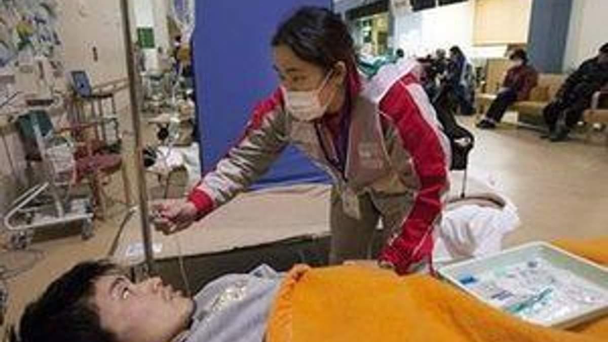 В Японии насчитали уже почти 15 тысяч погибших от стихии