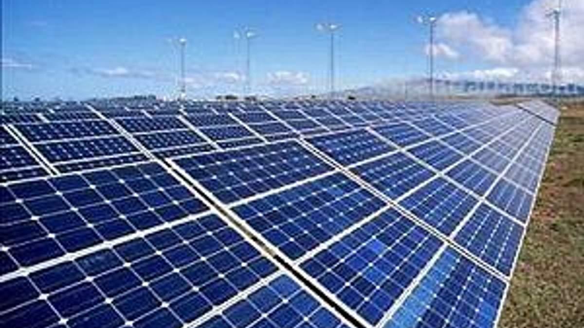Сонячні батареї встановлюють безкоштовно