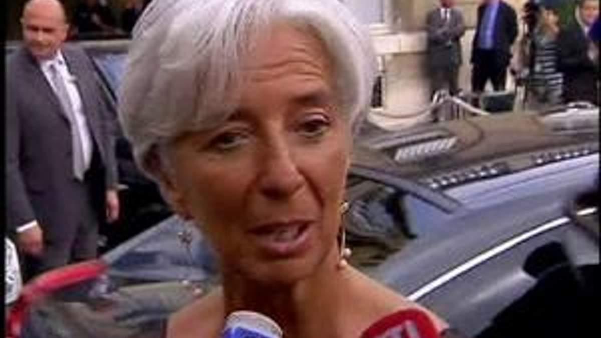Впервые в истории МВФ возглавила женщина - Кристин Лагард