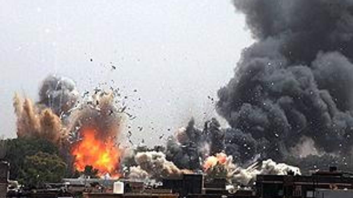 Лівія звинувачує НАТО в загибелі 1108 мирних жителів