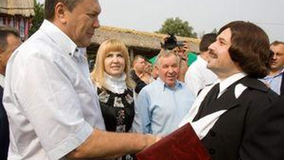 Виктор Янукович на Сорочинской ярмарке