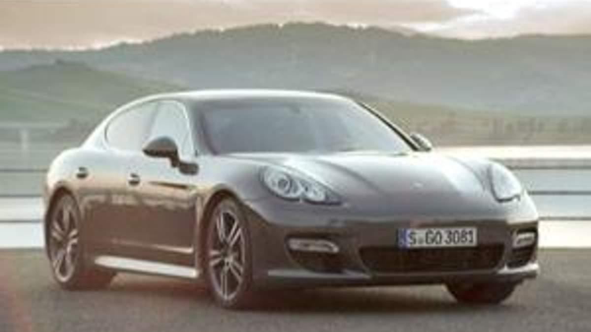 Porsche Panamera Turbo S - самый быстрый в мире лимузин