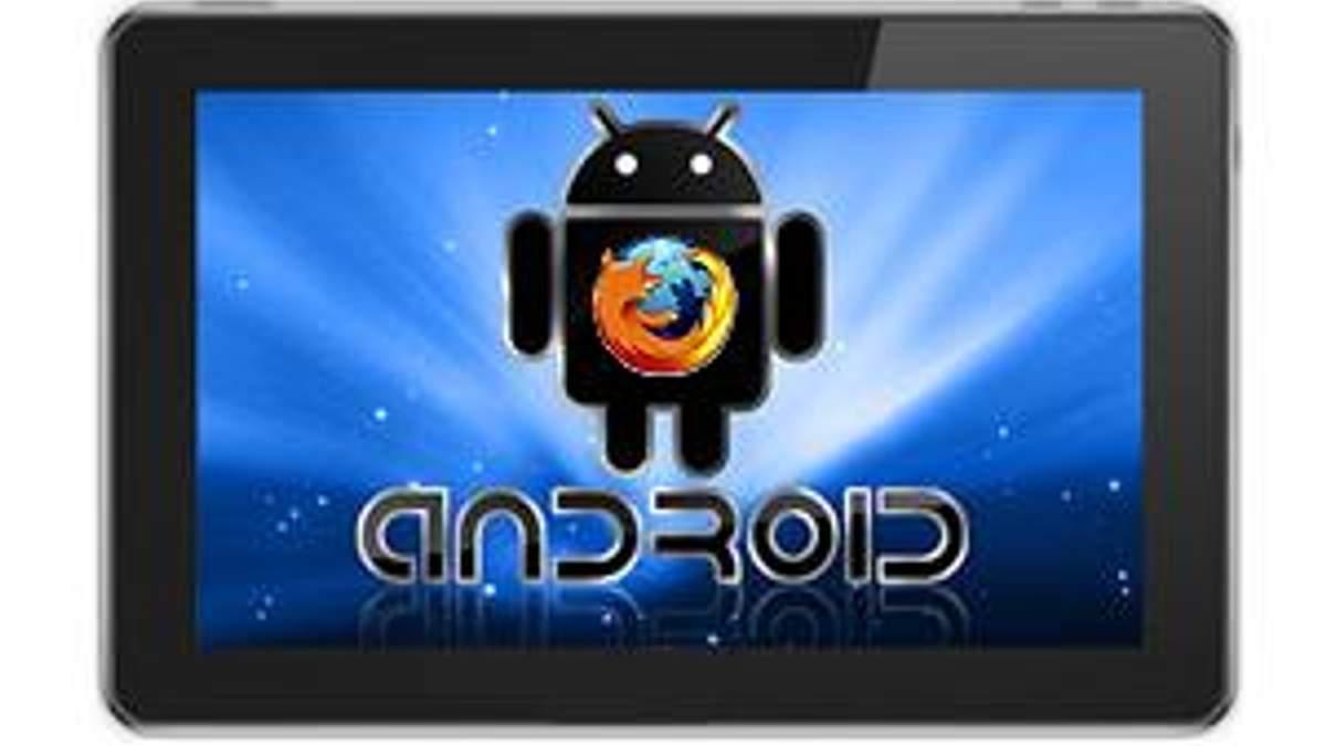 Для планшетів на базі Android випустять Firefox