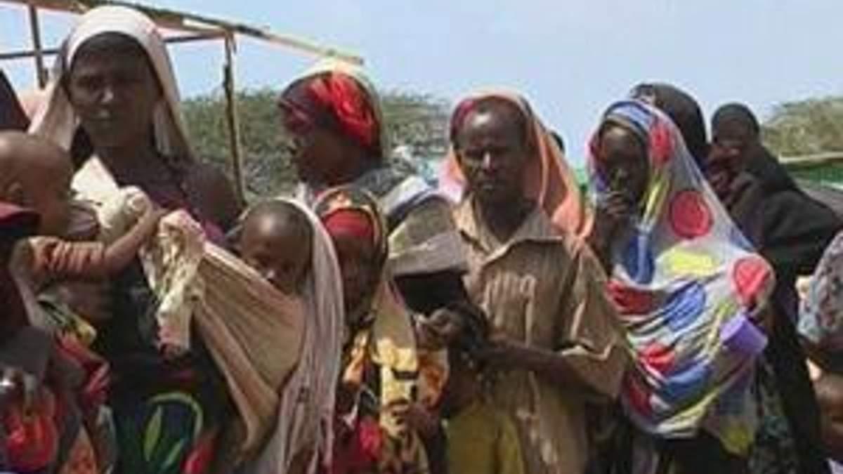 На юге Сомали от голода могут погибнуть 750 тысяч человек