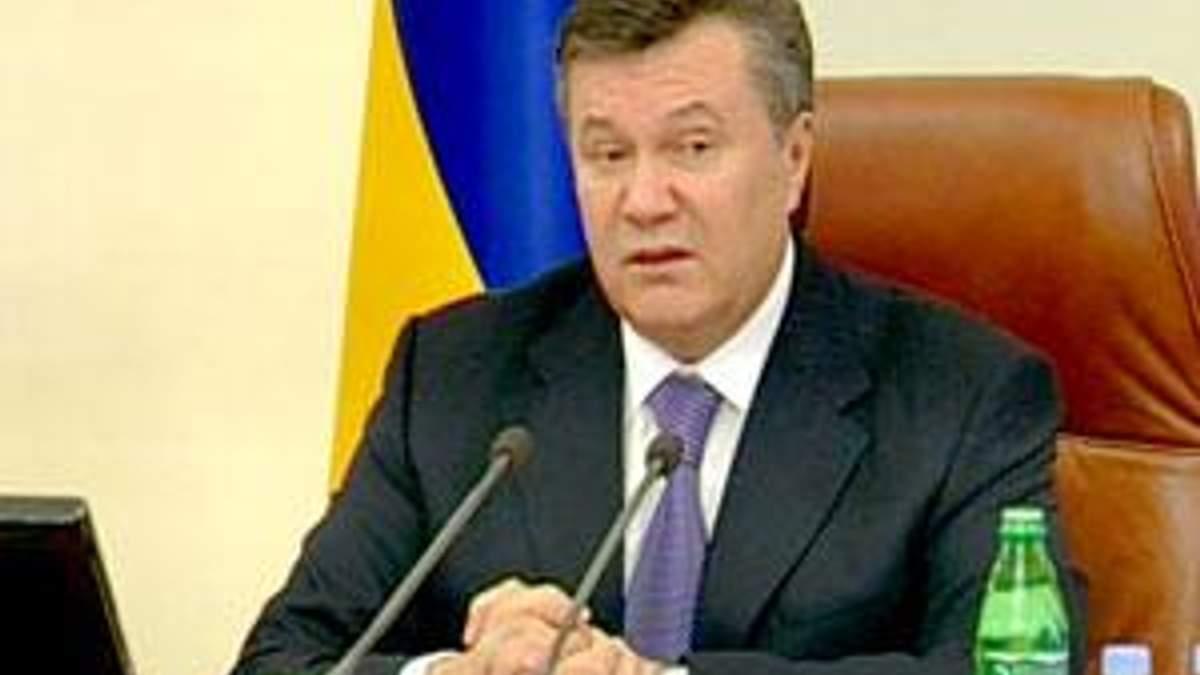 Янукович насварив уряд за непомітні реформи