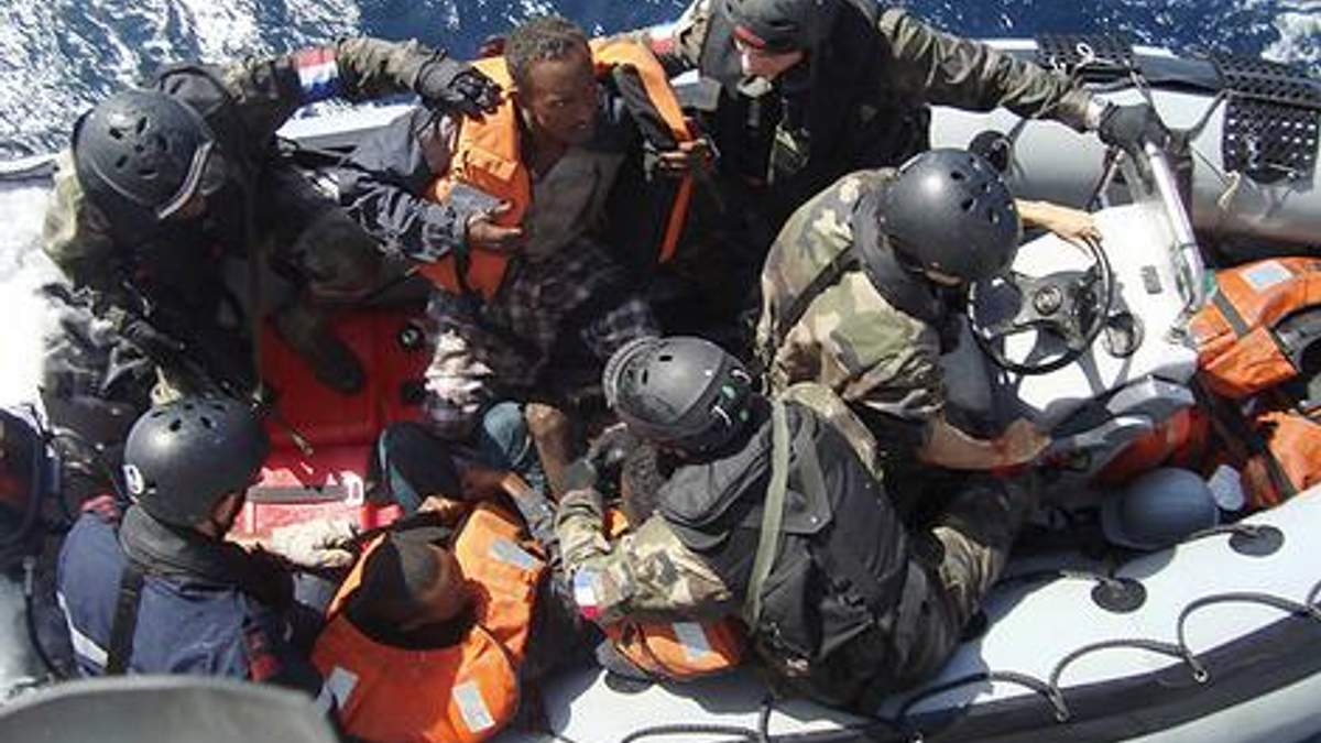 Во Франции осудили 5 сомалийских пиратов