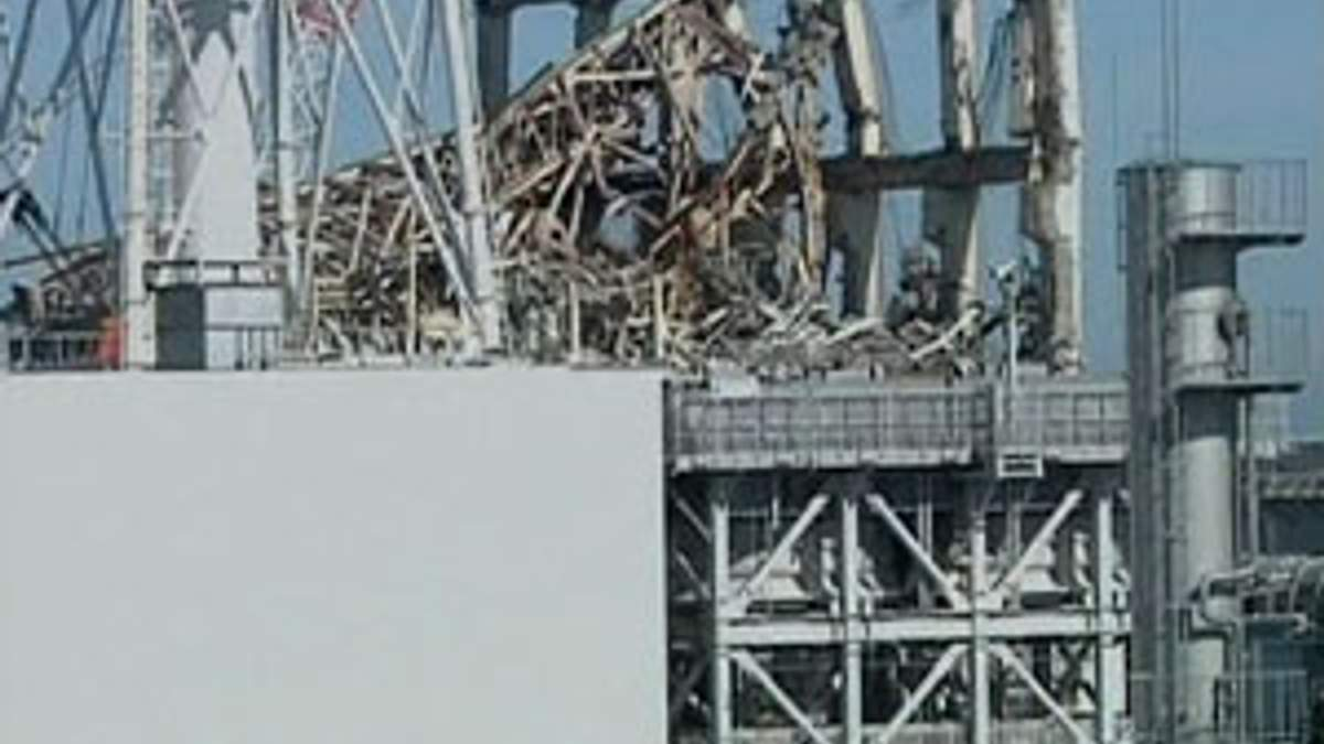 """Японское правительство утвердило план ликвидации последствий аварии на """"Фукусима-1"""""""