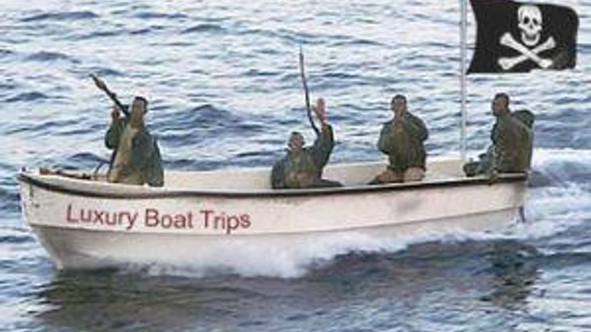 В пиратском плену находится 6 граждан Украины