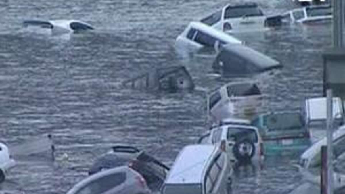 Цунами ударило по берегам Японии, все из-за мощного землетрясения (ВИДЕО)