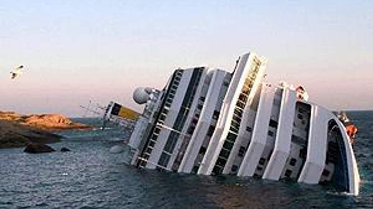 Італія: Внаслідок аварії лайнера зникли 70 людей