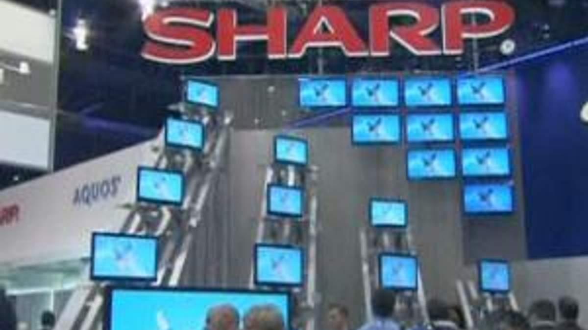 Sharp будет производить телевизоры совместно с Chimei