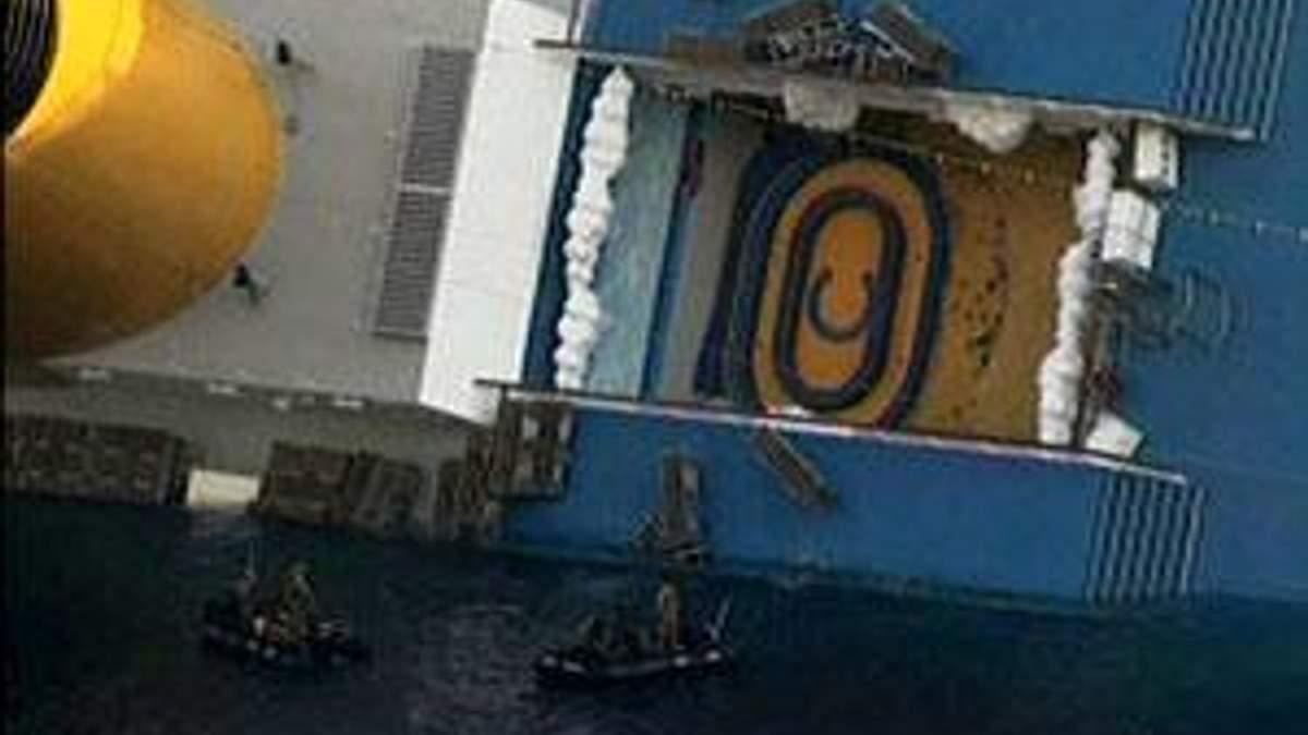 """На лайнері """"Costa Concordia"""" відновили рятувальні роботи"""