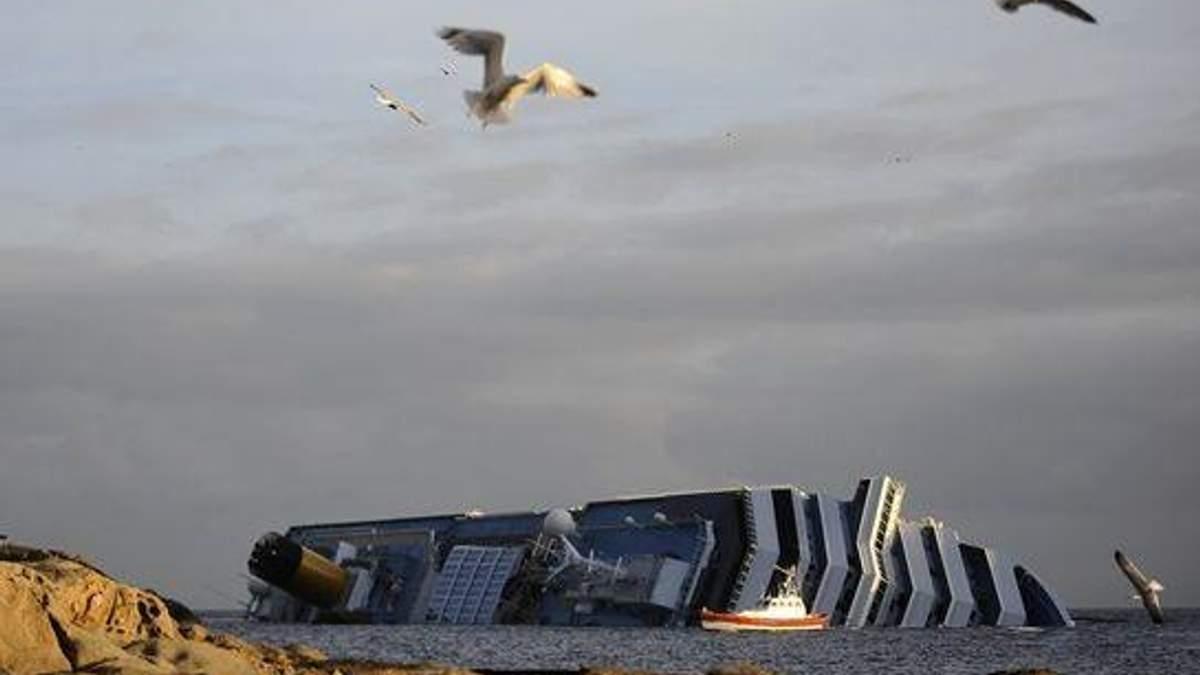 Moody's оцінило збитки від аварії Costa Concordia у 1 мільярд доларів