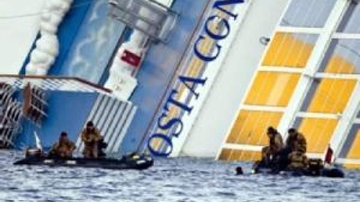 Пошукові роботи на Costa Concordia припинили