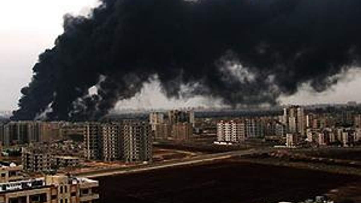 """Сирійські війська почали """"безпрецедентне"""" бомбардування міста Хомс"""