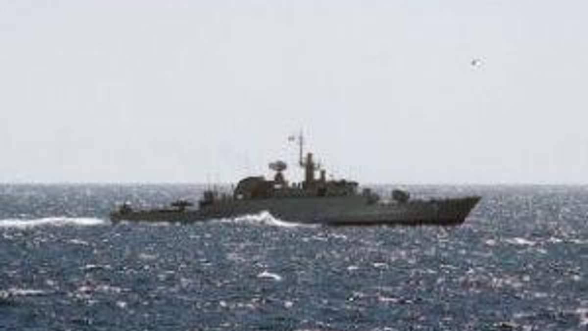 В Сирию вошли иранские военные корабли