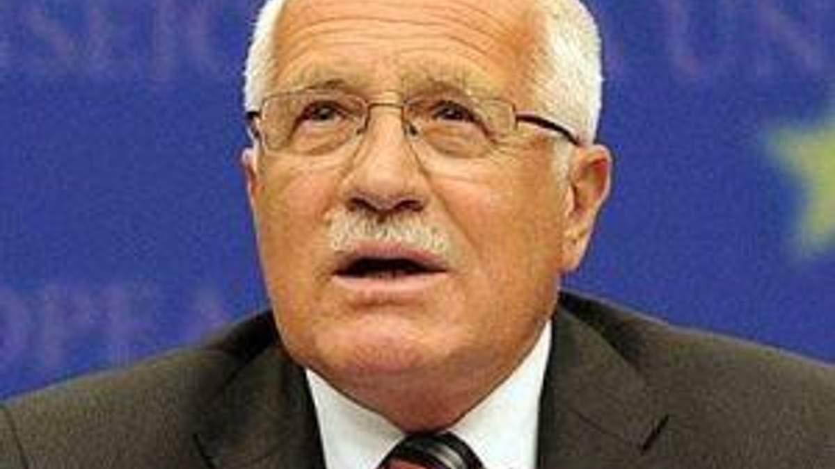 Президент Чехии предлагает изменить форму евроинтеграции