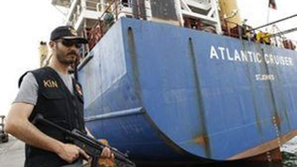 У Середземному морі затримали українське судно з 6 тоннами зброї