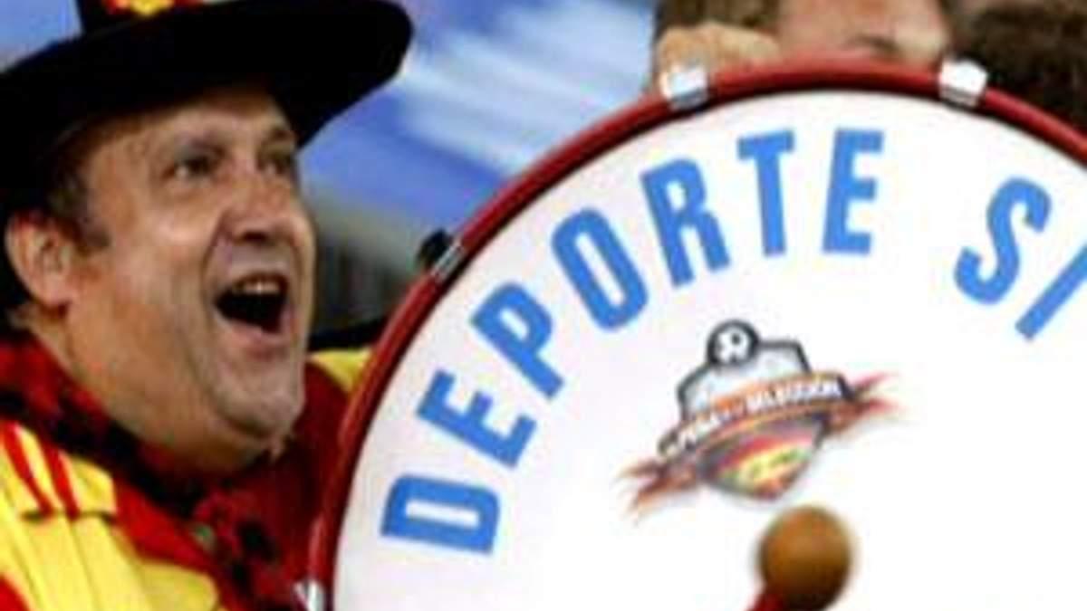 Маноло-барабанщик - суперфан збірної Іспанії