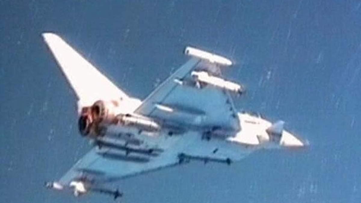 Багатоцільовий винищувач четвертого покоління Eurofighter Typhoon називають європейським воїном