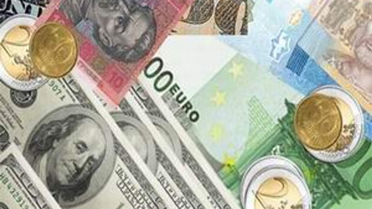 Доллары евро и гривны - стандартная корзина украинца