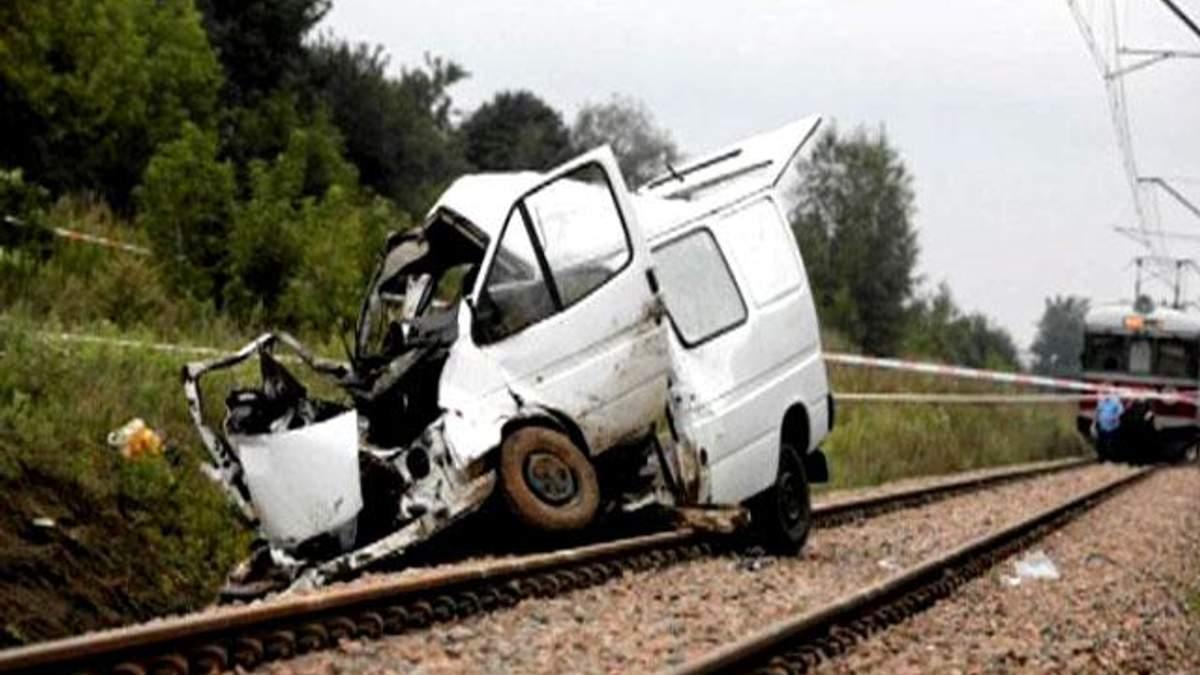 В аварії на польській залізниці загинули українці