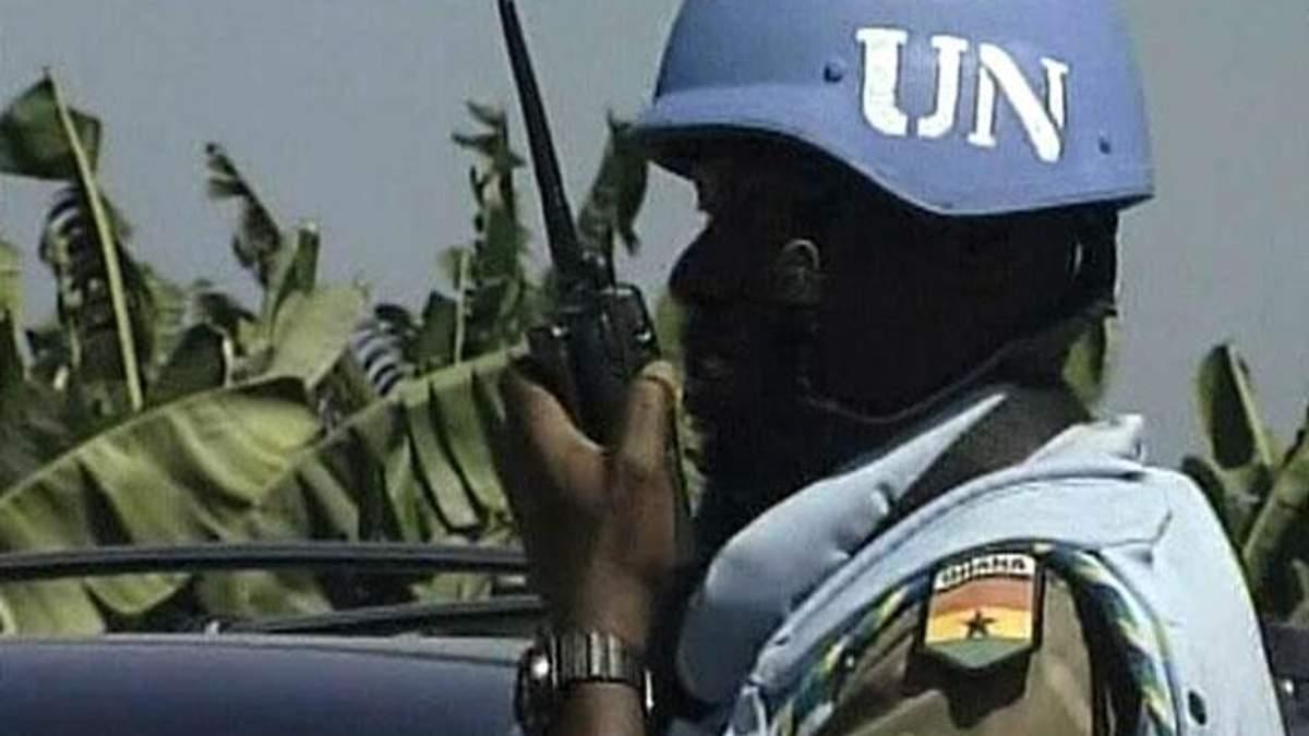 Війська ООН - вони забезпечують мир з допомогою зброї