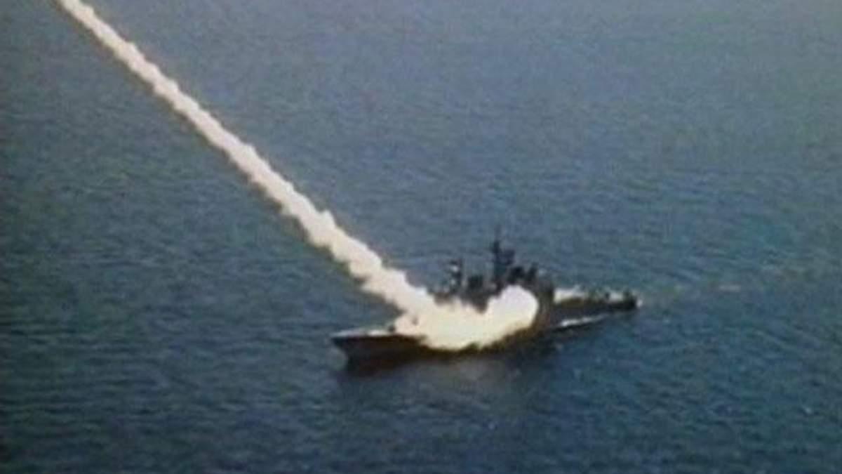 """Бойова система крейсеру """"Тікондерога"""" вражає грізністю"""