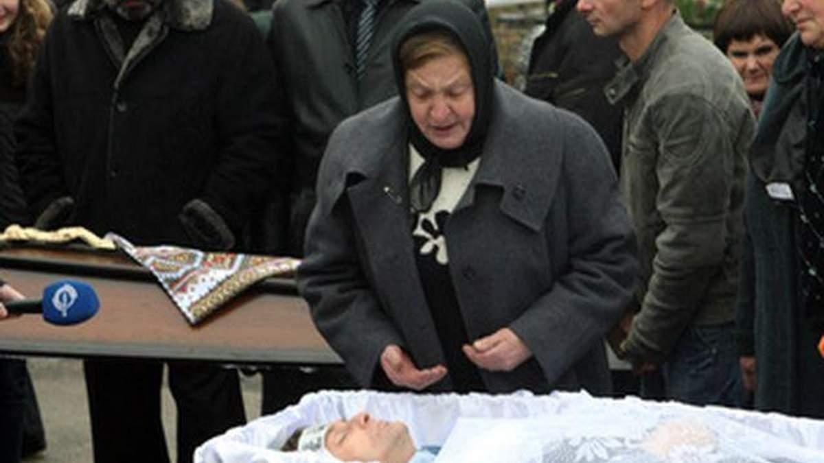 Мати Мазурка визнала, що поховала свого сина