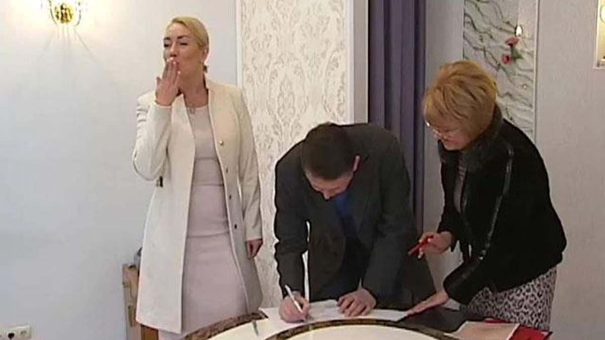 Мельниченко і Розинська одружилися (Фото)