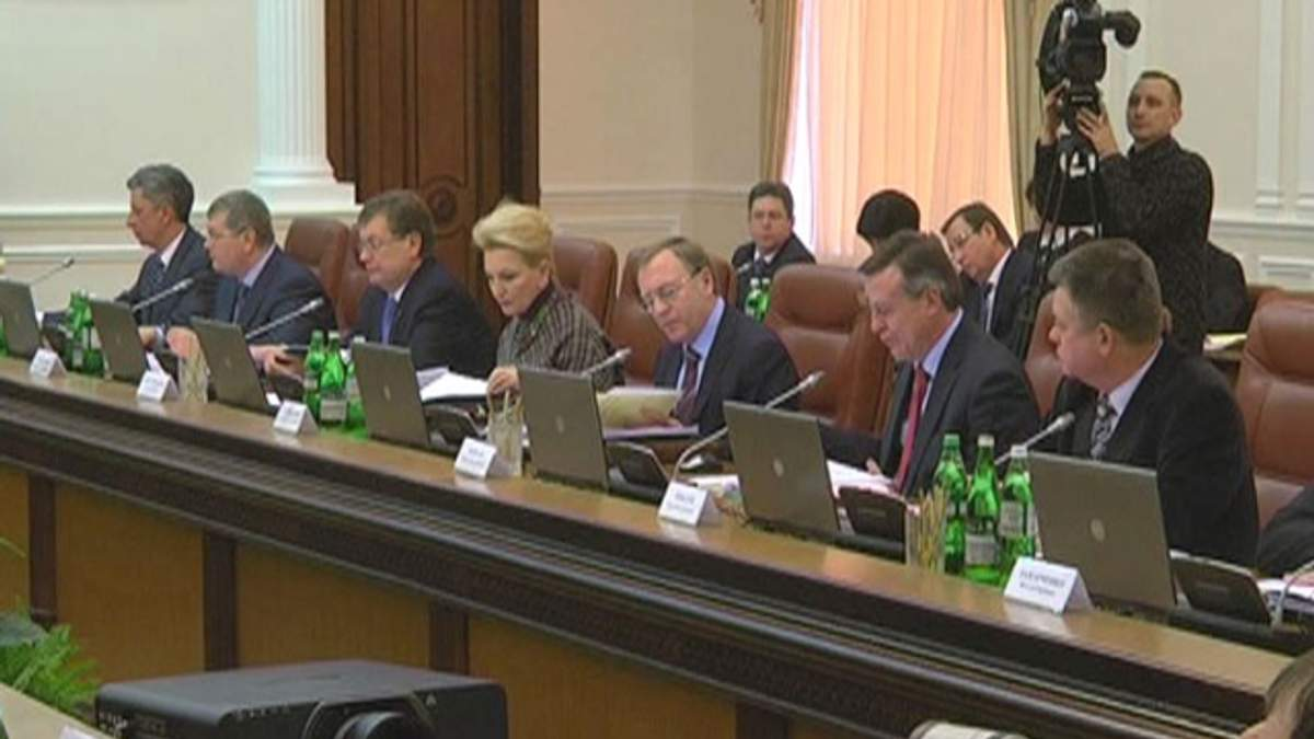 Уряд зібрався на останнє в 2012 році засідання