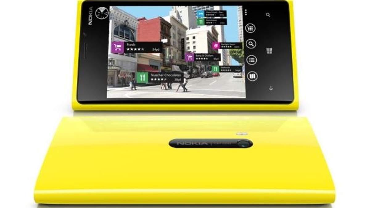 Акції Nokia виросли на 20% завдяки продажам Lumia