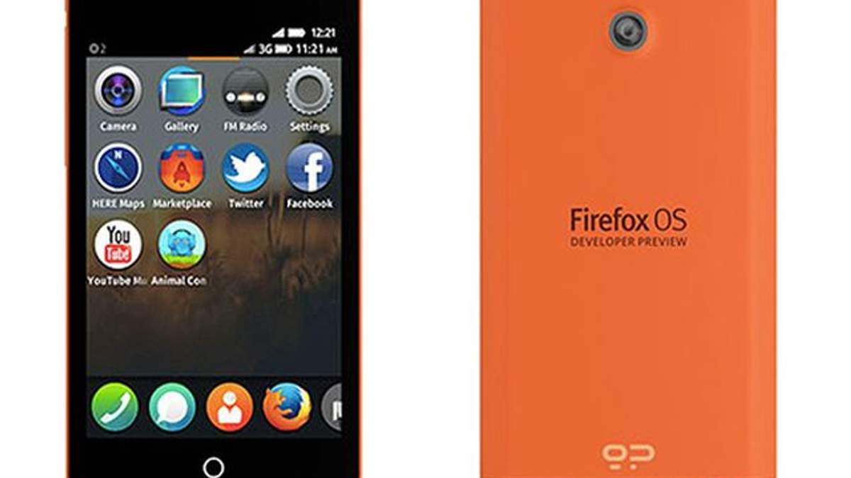 Розробники представили смартфони на Firefox OS
