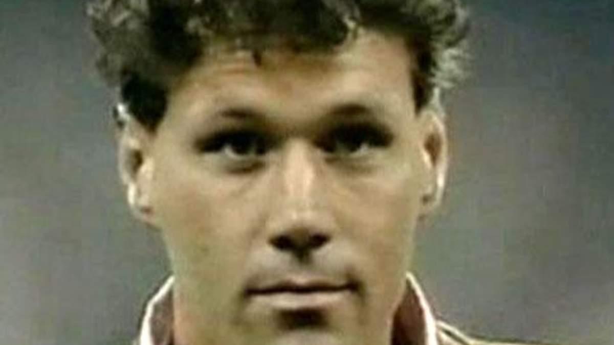 Марко ван Бастен - трехкратный обладатель Золотого мяча