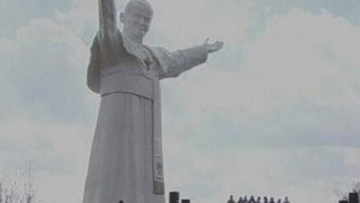 В Польше открыли крупнейший в мире памятник Иоанну Павлу II