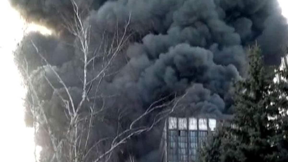 Минэнерго установило причину пожара на Углегорской ТЭС