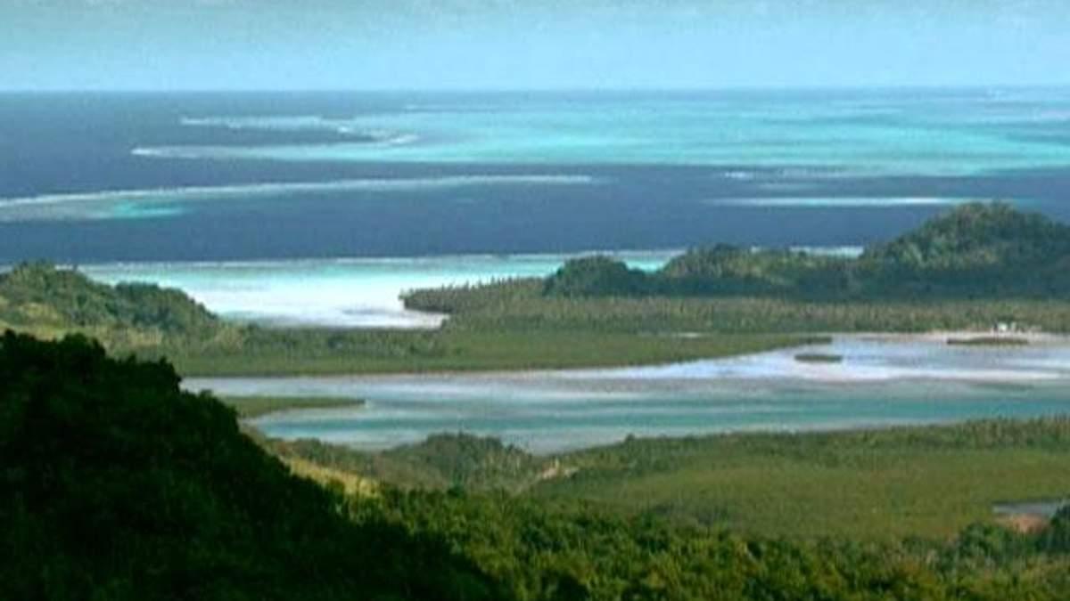 Фиджи - безграничная нетронутая природа без признаков цивилизации