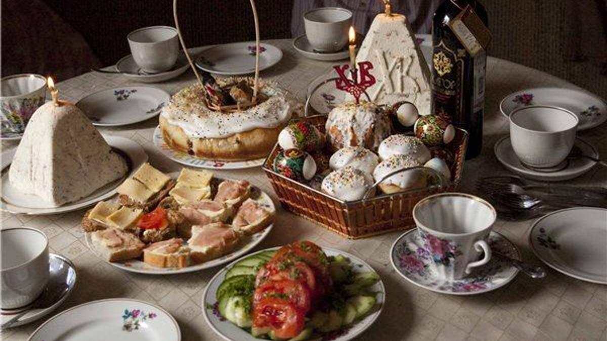 Українці витрачають на великодній стіл 500-1000 гривень