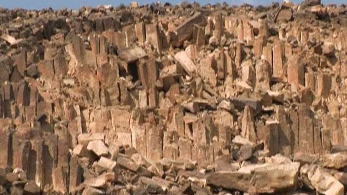 Пустыня Негев - обитель настоящих шедевров природы