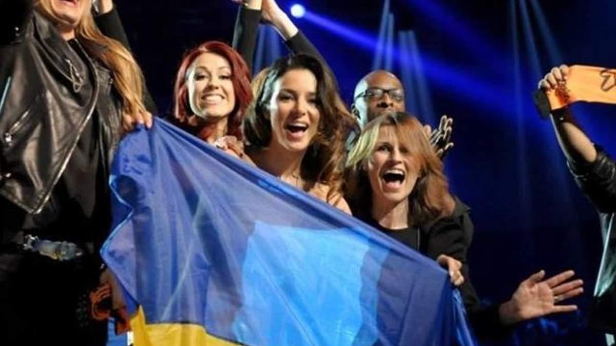 "Злата Огневич на сцене ""Евровидения-2013"""