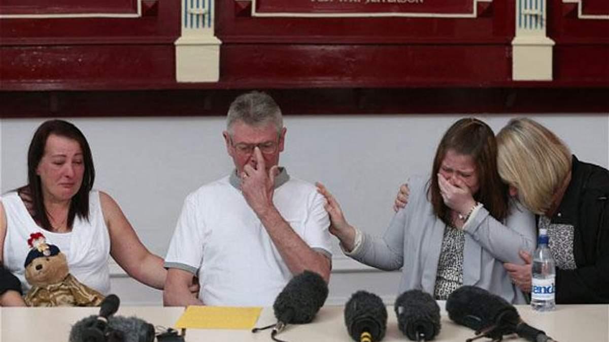 Семья убитого в Лондоне солдата дала пресс-конференцию