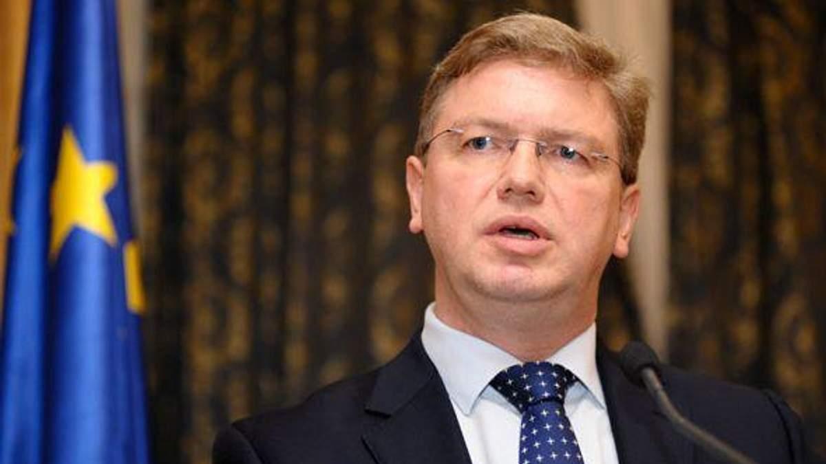 Фюле переконаний - у Вільнюсі підпишуть Угоду між Україною та ЄС