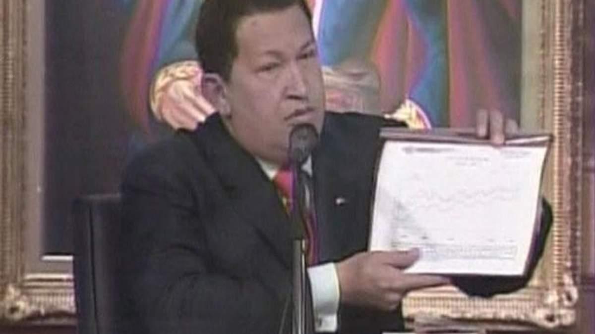 Диктаторы. Уго Чавес