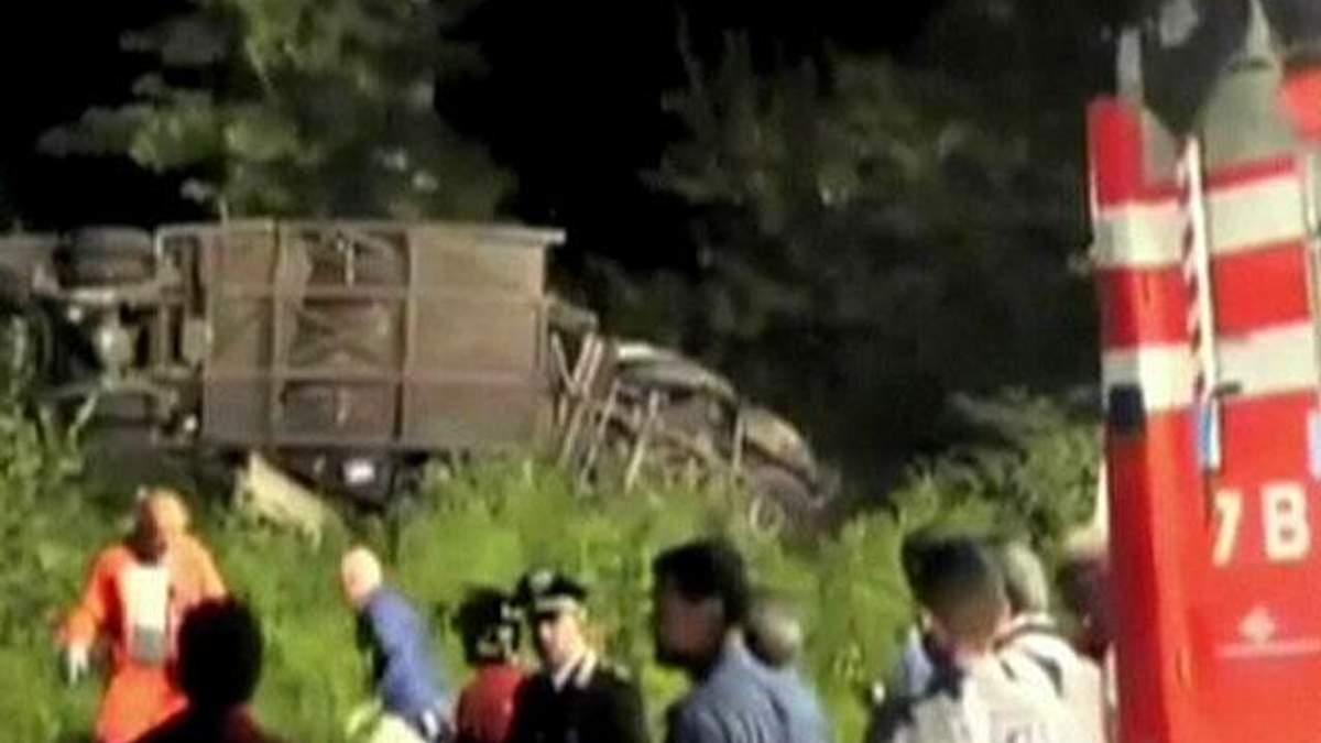 В Италии разбился автобус: 40 человек погибли